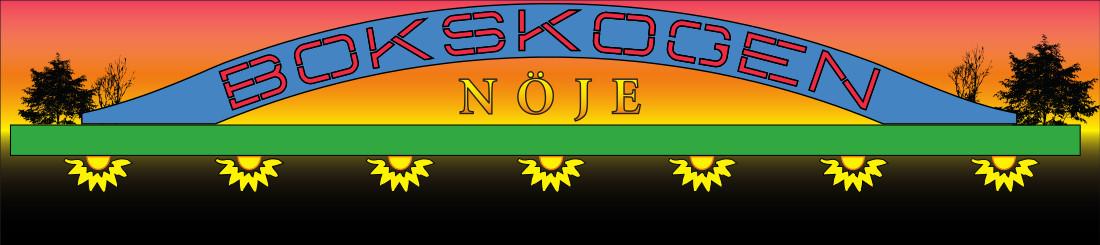 Bokskogen Nöje Logo